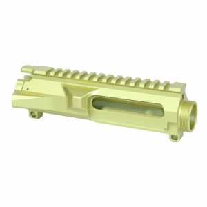 AR-15 Stripped Billet Upper Receiver (Anodized Neon Yellow)