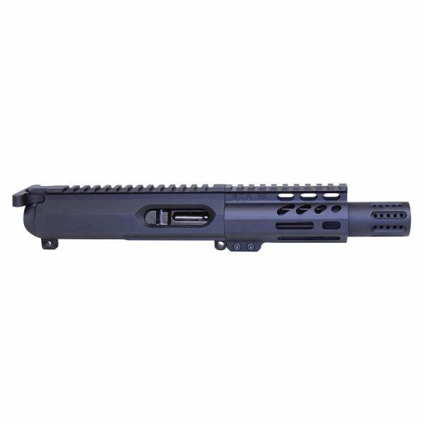 AR-15 9mm Cal Complete Micro Upper Kit W/ Micro Slip Over Muzzle Brake